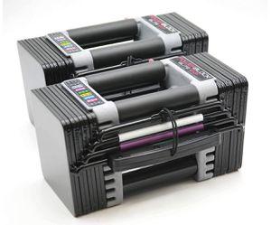 Powerblock Elite EXP - 2020 Model Black - (2) 50lb Adjustable Dumbbells BRAND NEW for Sale in Los Angeles, CA