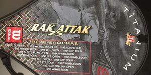 (2) Pete Sampras RAK ATTAK 25 Tennis Rackets for Sale in Virginia Beach, VA