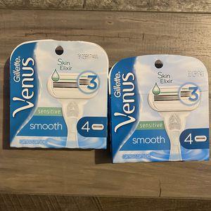 Gillette Venus smooth refills $9 each for Sale in San Bernardino, CA