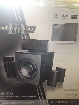 TV Surround sound. (Nolyn Acoustics) for Sale in San Francisco, CA