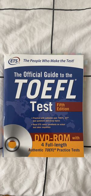 TOEFL exam book for Sale in Brooklyn, NY