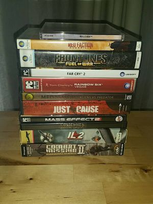 PC Games (Eleven! for $20!) for Sale in San Diego, CA
