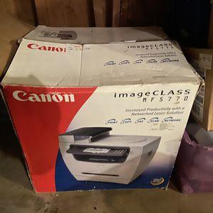 Canon ImageClass MF5770 Laser Printer, Scanner, Copier, Fax for Sale in Tacoma, WA