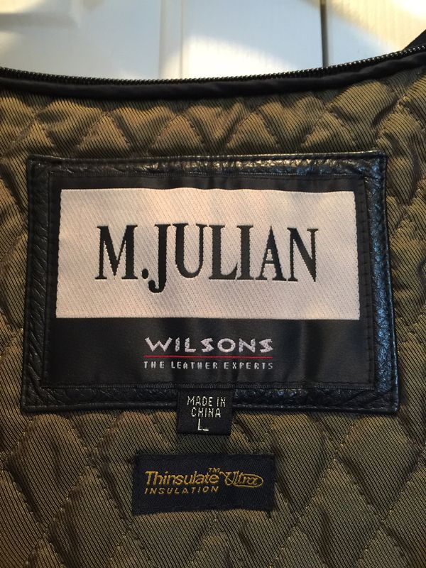 Men's M. Julian by Wilsons Leather jacket: $70 or Best reasonable offer