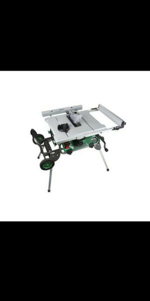 Metabo HPT (was Hitachi Power Tools)10-in Carbide-Tipped Blade 15-Amp Table Saw for Sale in Federal Way, WA