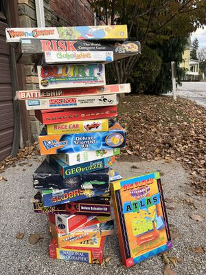 Board games, puzzles and other for Sale in Paoli, PA