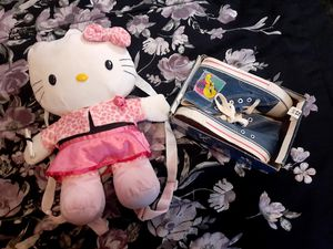 Looney tune shoes and hello kitty backpack for Sale in San Gabriel, CA
