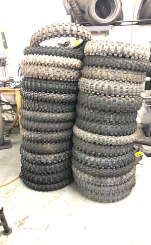 Dirt bike tires for Sale in Lakewood, CO
