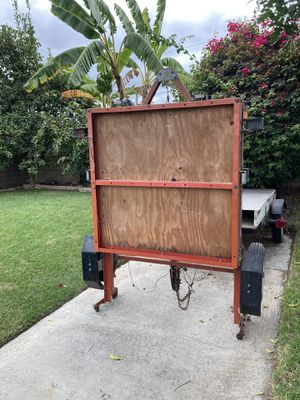 4x8 foldable trailer for Sale in Compton, CA