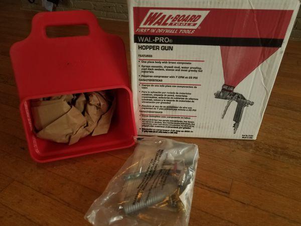 NEW DRYWALL HOPPER GUN