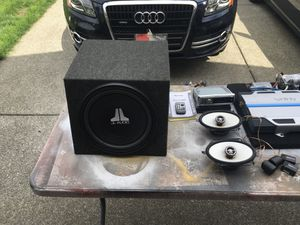 For Sale Completel Car Audio System And Rare! Or Best Offer for Sale in Tacoma, WA