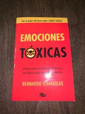 Emociones Toxicas libro for Sale in Lynn, MA