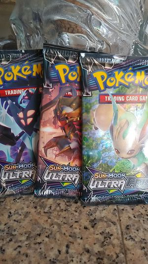 Pokemon Ultra Prism Booster Packs for Sale in Garden Grove, CA