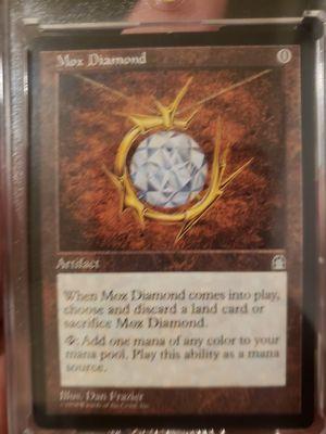 Magic the gathering mox diamond for Sale in Puyallup, WA