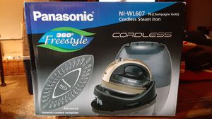 Panasonic 360 Freestyle Panasonic Cordless Steam Iron for Sale in Phoenix, AZ