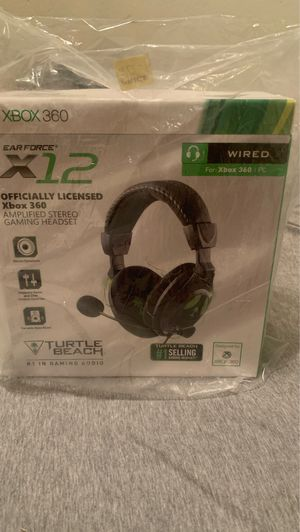 Turtle Beach X12 Xbox 360 headset for Sale in Mesa, AZ