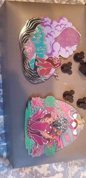 Disney The Lion King Pin Set - Limited Edition 500 pcs for Sale in Placentia, CA