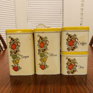 "Vintage Cheinco Tin Canisters ""SPICE OF LIFE"" for Sale in Land O' Lakes, FL"