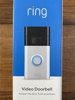 Ring Video Doorbell - 2nd Generation for Sale in Spartanburg,  SC