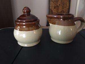 Sugar and creamer ceramic set for Sale in Alafaya, FL