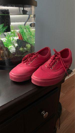 Red vans SIZE 9.5 MEN for Sale in Aurora, IL