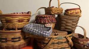 Longaberger Basket Collection for Sale in Portland, OR