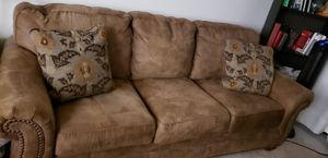 Ashley Sofa Set with 3+3+2 Seats, pillows and Raising Top Coffee Table for Sale in San Diego, CA
