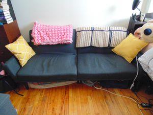 Black Sofa - Futon for Sale in New York, NY