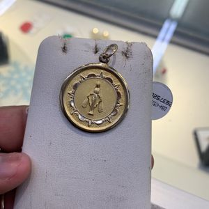 10k Religious Double Sided Pendant for Sale in Houston, TX