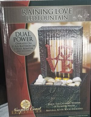 Led LOVE Fountain for Sale in Tulare, CA
