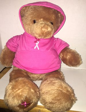 Breast cancer teddy bear for Sale in Pittsburgh, PA
