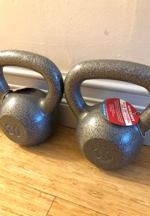 Kettle bell 30 lbs pair 💥💥 for Sale in Miami, FL