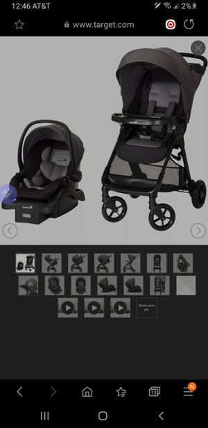 Safety 1st travel system combo for Sale in Moreno Valley, CA