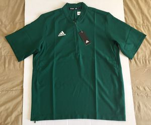 Adidas 1/4 Zip Green Golf Tennis Active Athletic Shirt Mens Sz Large NEW NWT for Sale in Tempe, AZ