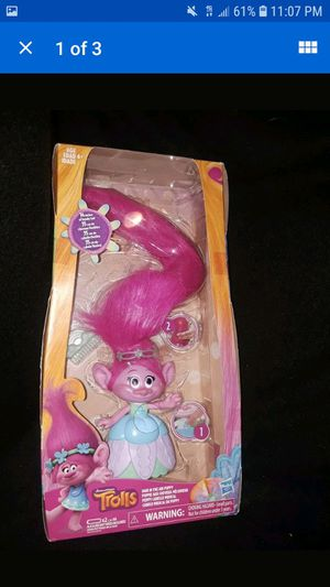 Troll poppy light up hair for Sale in VLG OF LAKEWD, IL