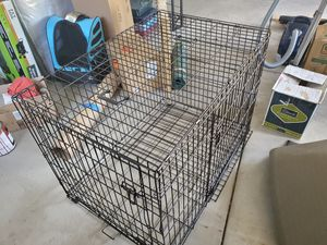 XXL Double Door Metal Dog Crate for Sale in Arvada, CO