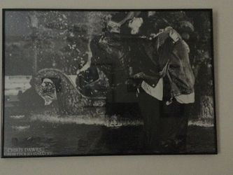 Framed Black And White Poster for Sale in Chicago,  IL