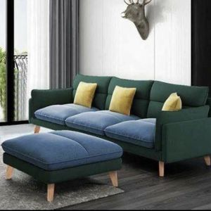 Cute Couch With Ottoman for Sale in Tempe, AZ