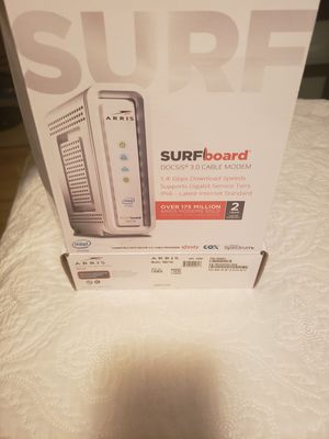 Surf board modem by arris for Sale in City of Industry, CA