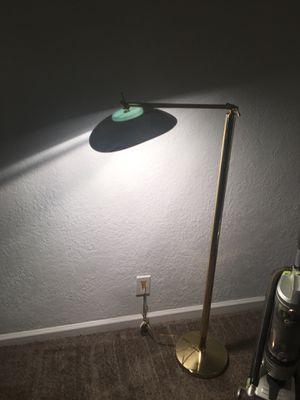 Brass swing arm floor lamp for Sale in Fort Lauderdale, FL