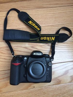 Nikon D200 Digital Still Camera for Sale in Queens, NY