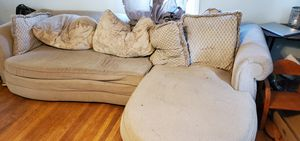 Free couch, curbside pickup. for Sale in Hampton, VA