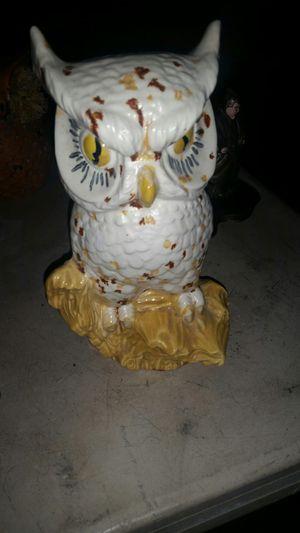 Ceramic owl for Sale in Wenatchee, WA