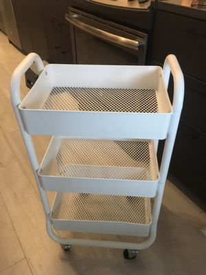 Three tier rolling storage cart for Sale in Washington, DC