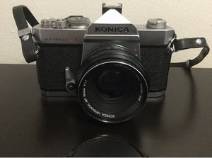 Konica Autoreflex T3 35mm SLR Film Camera W/ 50mm F1.7 Lens for Sale in Brooklyn, NY