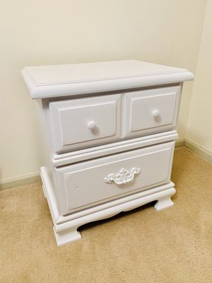 Solid Oak Wood 2 Drawers Dresser/Chest for Sale in Alexandria, VA