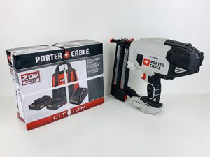 Porter-cable finishing nail gun and battery bundle for Sale in Elk Grove, CA
