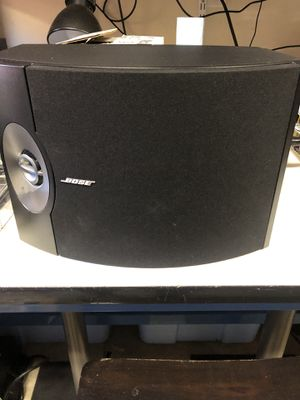 Bose 301 speakers perfect condition with stands for Sale in San Jose, CA