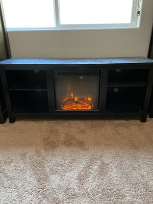 "➡️ 58"" Fireplace TV Stand for Sale in Bakersfield, CA"