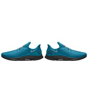 Used, Carolina Panthers Nike Air Zoom Pegasus 35 iD Women's Running Shoe for Sale for sale  Charlotte, NC